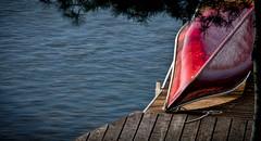 Cottage Memories 1 (Knarr Gallery) Tags: cottage dock canoe lake shore nikon d300 summer muskoka 18200mmf3556gvrii knarrgallery darylknarr knarrphotography