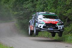 stberg - Andersson, Citroen DS3 WRC (Vikuri) Tags: speed canon finland jump mark rally ii wrc 5d gravel ralli 2015 stberg ss11 mkkiper nesteoilrallyfinland citroends3