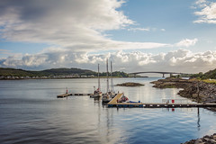 skye bridge II (sinasohn.photography) Tags: bridge skye water sailboat scotland isle