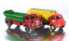 Bedford S Automec and Vanguards (adrianz toyz) Tags: toy model truck lorry lledo vanguards bedford s tanker automec hopper diecast