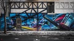 Pig-eon (BeyondThePrism) Tags: graf graffiti art street streetphotography streetside streetart colour colourful bright snow messy beyondtheprism beyond wwwbeyondtheprismcom prism design building side sidewalk stmarc montreal quebec castonguay castonguayjeanphilippe jpcastonguay jpc