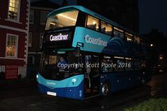 Transdev Yorkshire Coastliner 3631 BT66MVO Volvo B5TL Wrights Gemini3 (6228 Leeds) Tags: transdev yorkshire coastliner 3631 bt66mvo volvo b5tl wrights gemini3 york minster area homeward bound malton