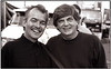 John Prine and Phil Everly at a Everly Brothers homecoming performance in Central City/Kentucky. (martin alberts Pictures of Amsterdam) Tags: everlybrothers johnprine phileverly centralcity kentucky martinalberts rockandroll music byebyelove portrait everly muhlenbergcounty sepia doneverly