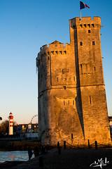 Tour Saint-Nicolas / St Nicholas' tower - La-Rochelle (christian_lemale) Tags: larochelle france nikon d7100