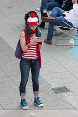 1612 Where's Waldo flashmob24 (nooccar) Tags: dtphx 1612 improvaz dec2016 nooccar cityscape devonchristopheradams whereswaldo contactmeforusage devoncadams dontstealart flashmob photobydevonchristopheradams