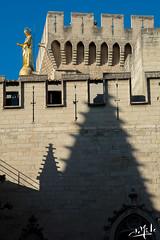 Palais des Papes / Palace of Popes - Avignon (christian_lemale) Tags: avignon palais palace papes popes palaisdespapes provence architecture france nikon d7100