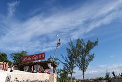 Cliff Diving at Rick's Cafe (Barney A Bishop) Tags: blueskies cliffdivingatrickscafe cliffdiving rickscafe cityscape jamaica landscape negril westmorelandparish