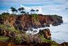Poipu Bay Golf Course (1eyephotography) Tags: cliff palms ocean beach islands landscape clouds hawaii paradise
