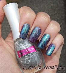 Nail Art: Galaxy 2.0 (A Garota Esmaltada) Tags: agarotaesmaltada unhas esmaltes unhasdecoradas unhasartísticas manicure nails nailpolish nailart naildesign galáxia galaxy glitter chuvisco beautycolor