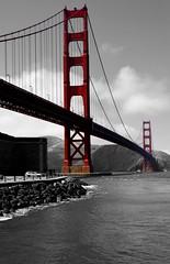 Black & White Edits (jaffa600) Tags: usa unitedstates unitedstatesofamerica america edit blackandwhite california californiarepublic sanfrancisco sanfran goldengatenationalpark goldengate goldengatebridge bridge