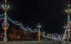 Alexander's bridge over the river Orlik, Orel, Russia (Roman Dergunov) Tags: canon canonef1740mmf4lusm hdr newyear orel russia canoneos70d city cityscape illumination light night outdoor новыйгод орёл россия город городскойпейзаж иллюминация ночь свет