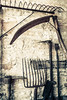 Farm Implements (mh218) Tags: farm media agricultural agriculture barn book bookcover buildings construction equipment farming fork implement old pitchfork rake scythe stable tool