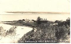 The Entrance Shaws Bay Ballina1925 (RTRL) Tags: eastballina ballina theentrance