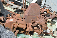 Gearbox castings of the 10 foot IBC Geared Simplex windmill (sarracenia.flava) Tags: intercolonialboringcompany ibc geared simplex windmill gearbox windengine
