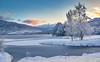 Norwegian winter 2014 (MaikeJanina) Tags: norwegen landscape landschaft natur norge norway scandinavia skandinavien winter schnee snow lake ice mountains sunset dawn