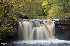 One of the cascades at Wainwath force, Swaledale, Yorkshire Dales National Park. UK (Wend's photography) Tags: autumn autumnal atmosphere britain dales england keld landscape longexposure lee le northyorkshire northyorks national park rural river fall foss scenery trees uk unitedkingdom waterscape waterfall water swaledale yorkshire yorkshiredales wendsphotography