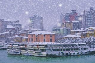 Wintertime Karaköy Istanbul