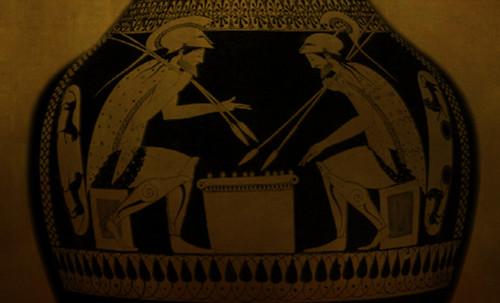 "Petteia - Ludus Latrunculorum  / Iconografía de las civilizaciones helenolatinas • <a style=""font-size:0.8em;"" href=""http://www.flickr.com/photos/30735181@N00/32481374556/"" target=""_blank"">View on Flickr</a>"