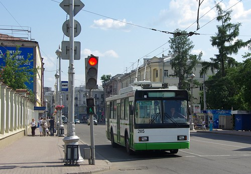 Irkutsk trolleybus VMZ-5298.00 285 ©  trolleway