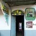 Bar and restaurant with islamic mural paintings, Harari Region, Harar, Ethiopia