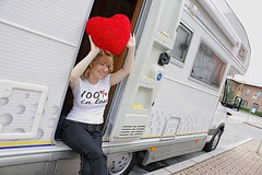 Camper in love