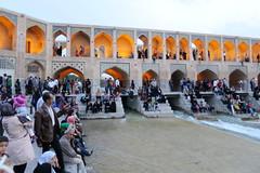 Iran_6642 (DavorR) Tags: bridge iran most esfahan isfahan khajoo persianarchitecture khajubridge