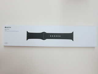 Apple Watch 42mm Black Sport Band
