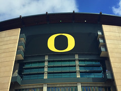 Autzen. (emilypallack) Tags: oregon football stadium universityoforegon autzen