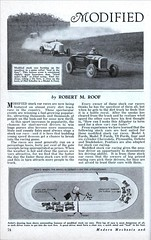 MODIFIED STOCK CAR RACING � America�s New Sport of Thrills (Dec, 1933) 1 of 6