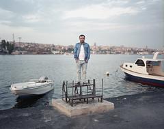 Istanbul (3) (marek.wykowski) Tags: sea portrait water turkey golden istanbul horn