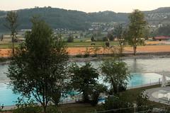 Badi Muri ( Freibad - Aarebad - Bad ) am rechten Aareufer - Ufer der Aare in der Gemeinde Muri bei Bern im Kanton Bern der Schweiz (chrchr_75) Tags: chriguhurnibluemailch christoph hurni schweiz suisse switzerland svizzera suissa swiss chrchr chrchr75 chrigu chriguhurni juli 2015 juli2015 albumzzz201507juli albumaare aare aar arole fluss river fiume rivire ro reka joki  landschaft landscape natur nature wasser water eau sveitsi sviss  zwitserland sveits szwajcaria sua suiza