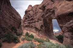 Pine Tree Arch - Arches National Park, Utah (helikesto-rec) Tags: pinetree utah nationalpark arch arches archesnationalpark pinetreearch