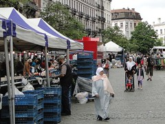 Market on the Sint-Gillisvoorplein (Joop van Meer) Tags: market 2015 sintgillis gr12 sintgillisvoorplein