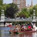 Swan Boats in the Boston Public Garden