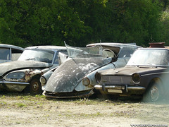 Épaves 2009 - Citroën DS (Deux-Chevrons.com) Tags: auto classic car barn rust classiccar automobile id neglected ds rusty citroën voiture collection abandon coche oldtimer collectible wreck casse derelict find wrecked abandonned ancienne rouille classique citroënds épave rouillée barnfind citroënid