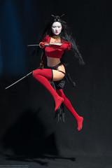 Phicen Shi 5.2 Conversion (edwicks_toybox) Tags: stainlesssteel ninja sword katana shi wakizashi billytucci 16scale femaleactionfigure executivereplicas phicen anaishikawa