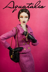 """Coco"" by Aquatalis (AlexNg & QuanaP) Tags: original fashion by doll guard style coco wig poppy 16 avant parker suited repaint fashionably alexng quanap aquatalis"