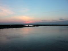 sunset sky water saltmarsh stoneharbornj