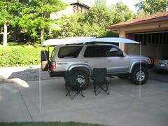 Shady Boy Awning on Toyota 4Runner 3