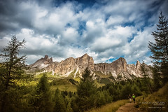 Come back to the Dolomites (Marco Venturin Photography) Tags: sky italy mountain tree clouds landscapes rocks dolomites