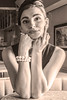 Model: Éloise Kendall MUA/Hair: Sharon Kyrwood Makeup Artistry (stevemarijanich) Tags: filmnoir hepburn andreyhepburn