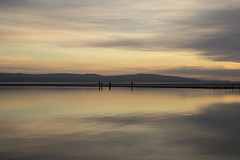 Pastel Waters (David Chennell - DavidC.Photography) Tags: wirral pastel westkirby lake reflection sunset goldenhour twilight dusk merseyside