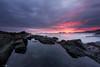 Intenso Amancer (Caramad) Tags: agua longexposure mar landscape acantilado rocas cantabria sea olas amanecer marcantábrico sunrise seascape castrourdiales rocks