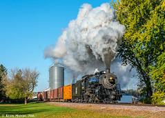Heading East (kdmadore) Tags: steamlocomotive steam soo1003 soo train railroad wisconsinsouthern wsor mikado sooline steamengine