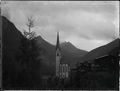 The Church (Bastiank80) Tags: mountains church heiligenblut polaroid