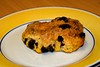 Birthday Rock Bun 16/365 (Keith Coldron) Tags: bun baked fruit rock plate