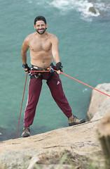 Rapel (Alan Soares Rio) Tags: rapel adventure nature riodejaneiro rj brasil nikon d7200 50mm 18 pedra da tartaruga grumari montain rock