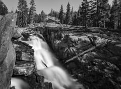 San Joaquin River falls near Garnet Lake (speedcenter2001) Tags: anseladamswilderness sierranevada sierra sierraphile highsierra california mountains wilderness hiking outdoor backpacking backcountry sep2 silverefexpro2 nd1000 nikon20mmf35ai