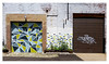 Strip Garage duo (real00) Tags: williamreal willreal 2016 2010s 2000s pittsburgh pennsylvania urban city landscape urbanlandscape alleghenycounty pittsburghregion westernpennsylvania wall stripdistrict garage geometric