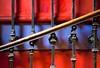 Ascension chromatique (Gerard Hermand) Tags: 1304055715 gerardhermand france paris canon eos5dmarkii formatpaysage escalier staircase couleur colour color rampe handrail